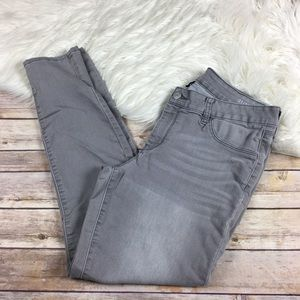 A N A Jegging Gray Wash Stretch Size 31